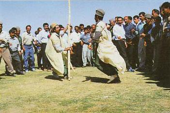رقص چوب بازی , قوم لر